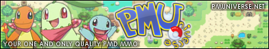 Pokemon Mystery Dungeon MMO!
